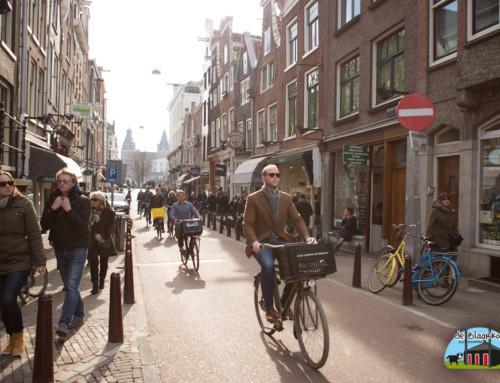 Heerlijk fietsen door Amsterdam